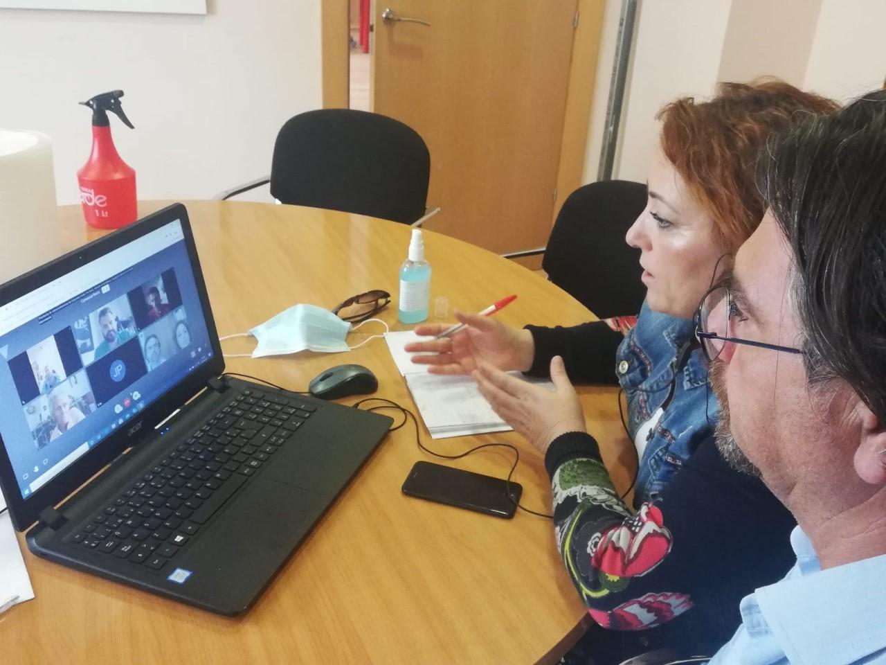 IU Granada refuerza el municipalismo durante la pandemia