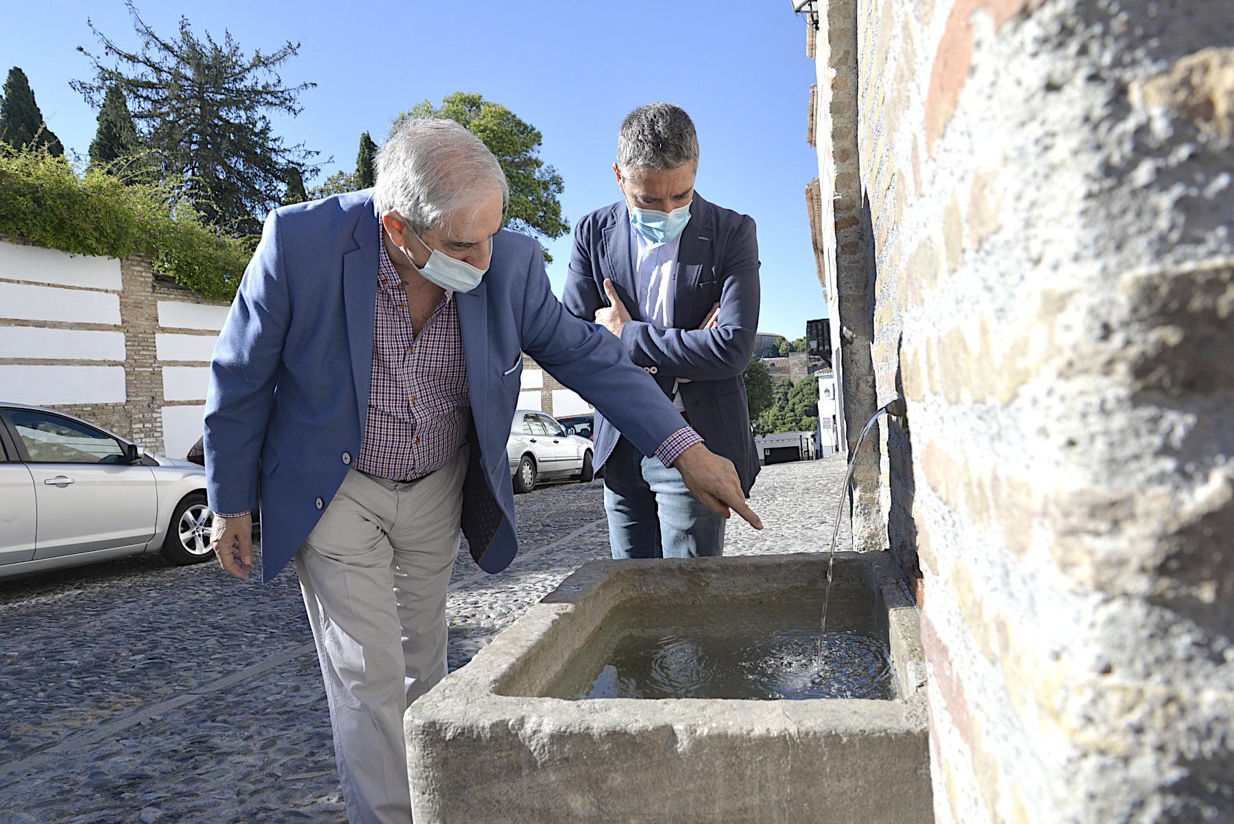 El Ayuntamiento ha limpiado y restaurado 14 aljibes del Albaicín