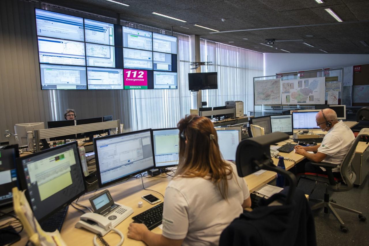 El 112 has gestionado 41.700 emergencias en Granada durante el primer semestre del año
