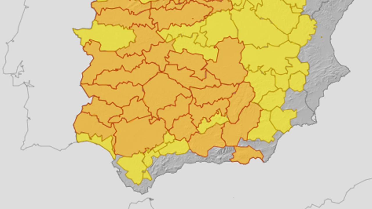 Aviso naranja por altas temperaturas en la cuenca del Genil y las comarcas de Baza y Guadix