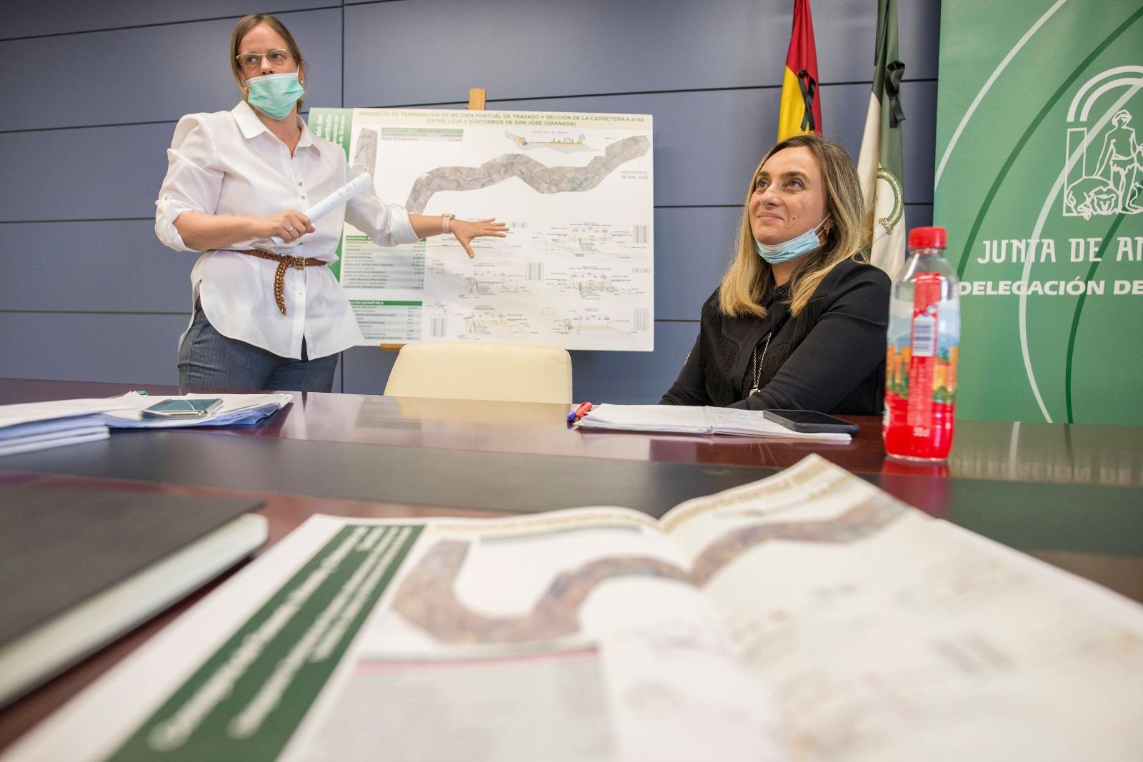 La Junta licita por 7,5 millones las obras de mejora de la carretera entre Loja y Ventorros