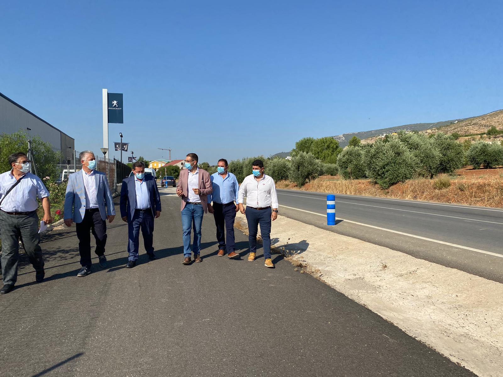 Diputación mejora la seguridad vial en la carretera de Ventas de Algarra a Íllora