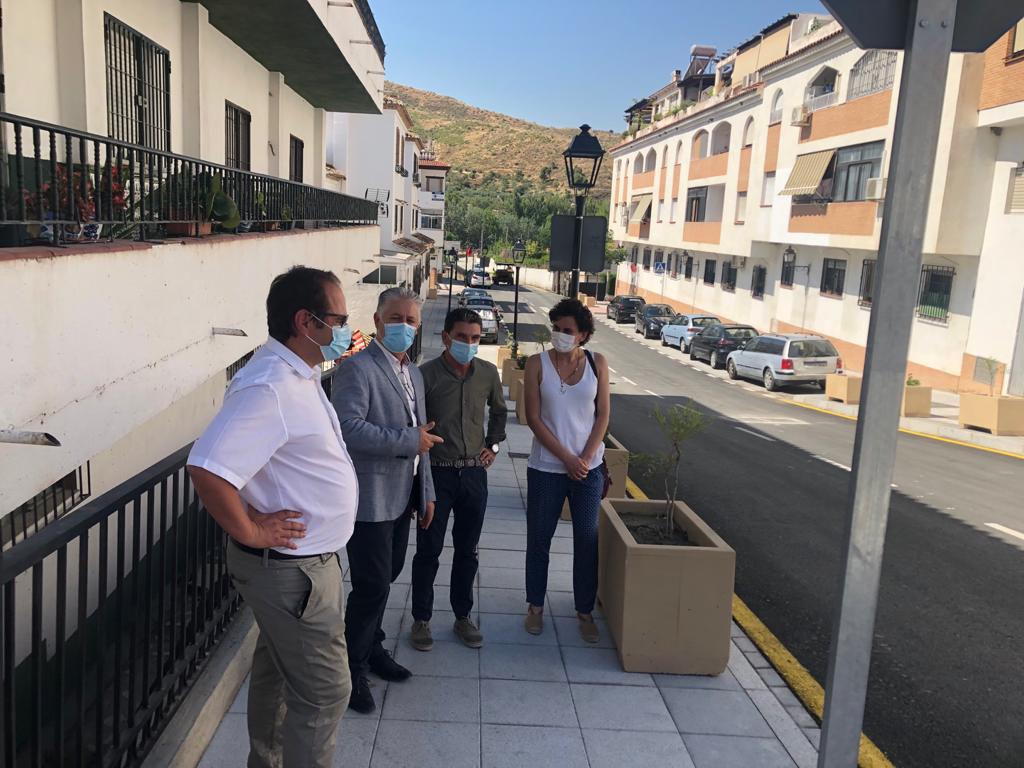 Finalizada la primera fase del embovedado del Barranco de Cenes de la Vega, con una inversión de más de 330.000 euros