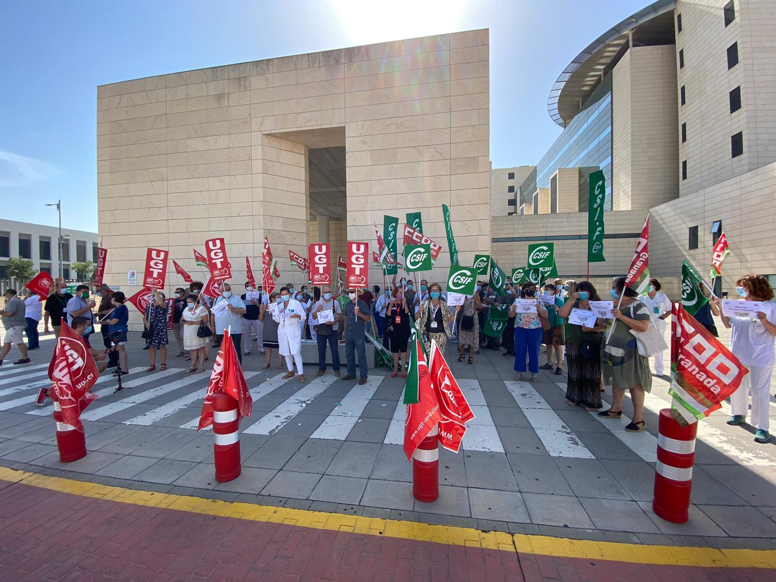 Los sindicatos mayoritarios convocan movilizaciones en defensa de la sanidad pública
