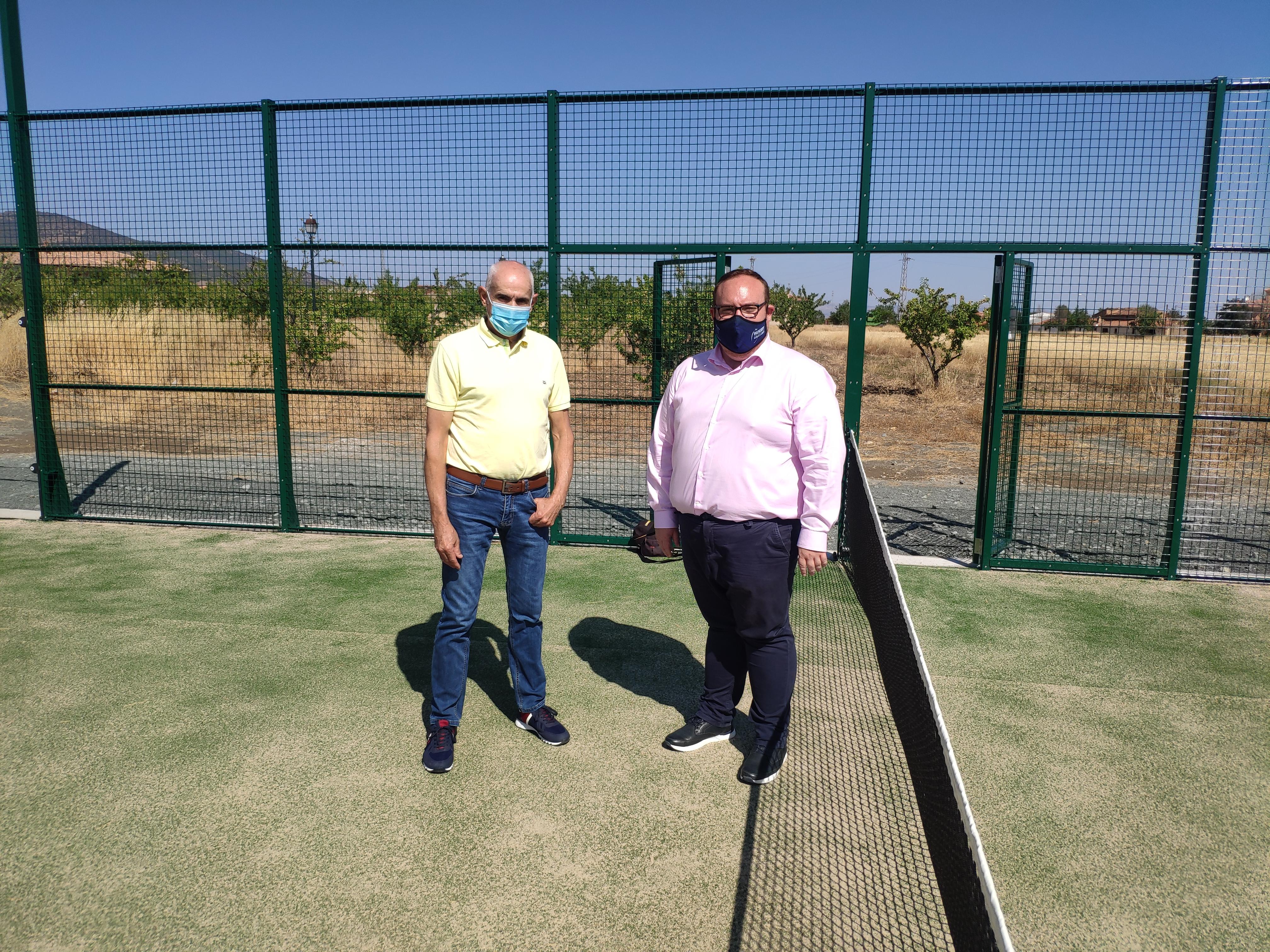 Diputación finaliza la construcción de las nuevas infraestructuras deportivas en Albuñán