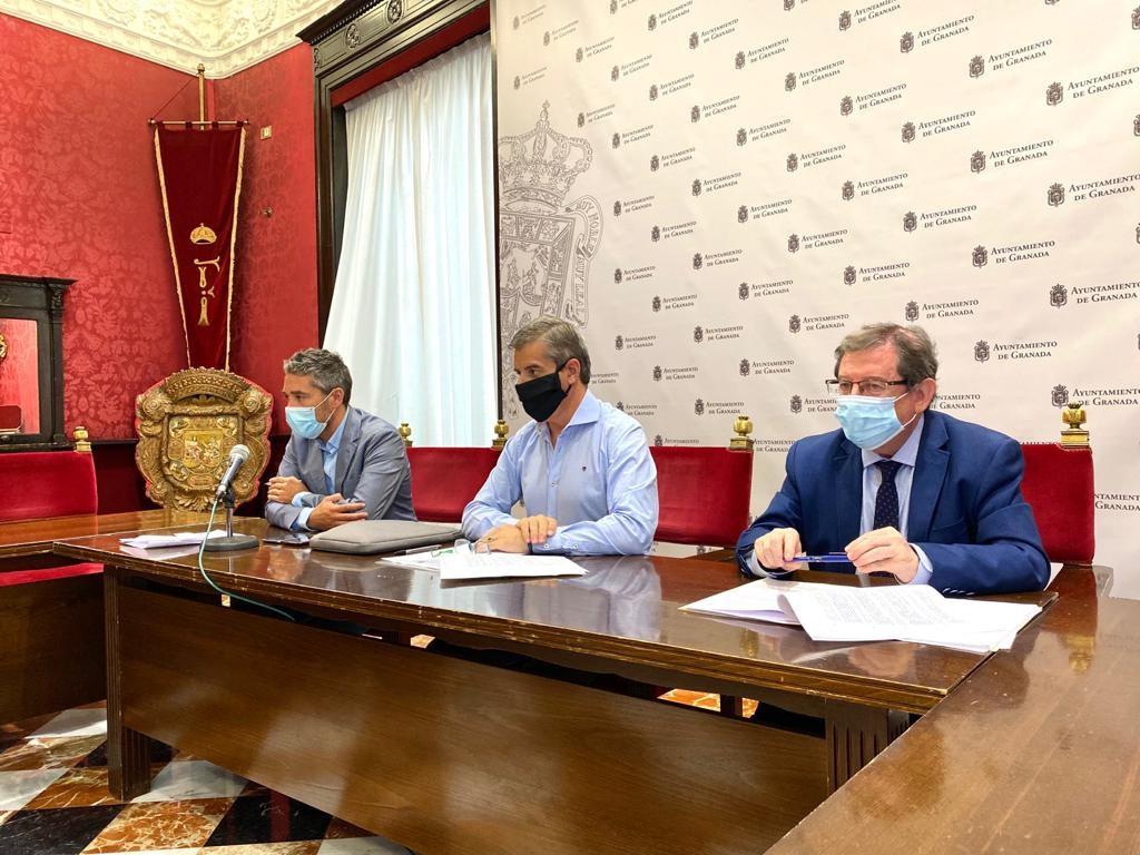 El Ayuntamiento inicia obras de remodelación en al Albaicín