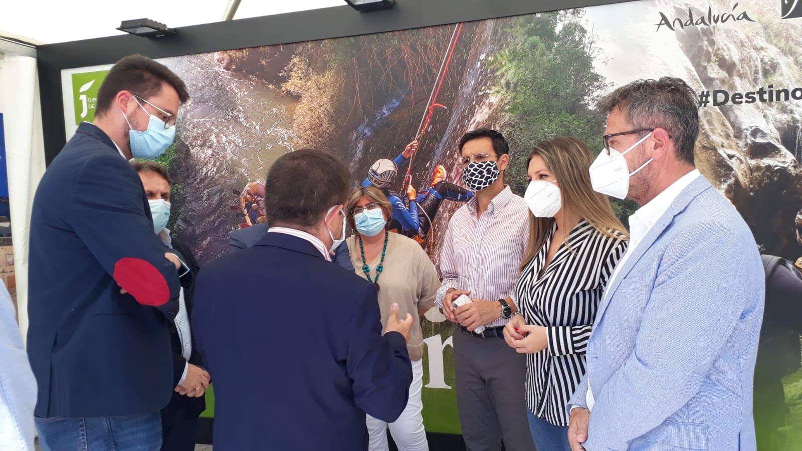 Jaén se promociona en Granada como destino turístico