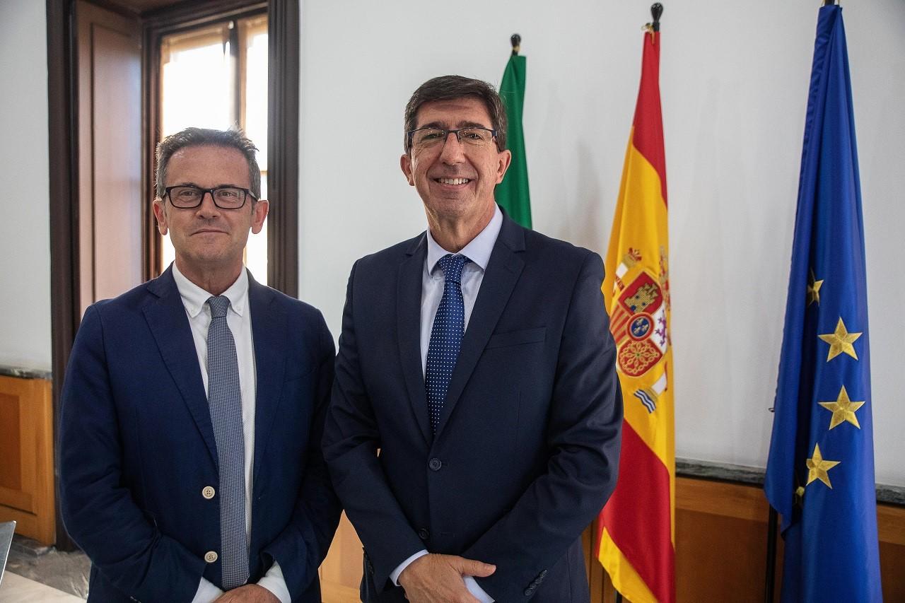El delegado de Justicia destaca la importancia de la creación de un nuevo juzgado de lo Mercantil para Granada