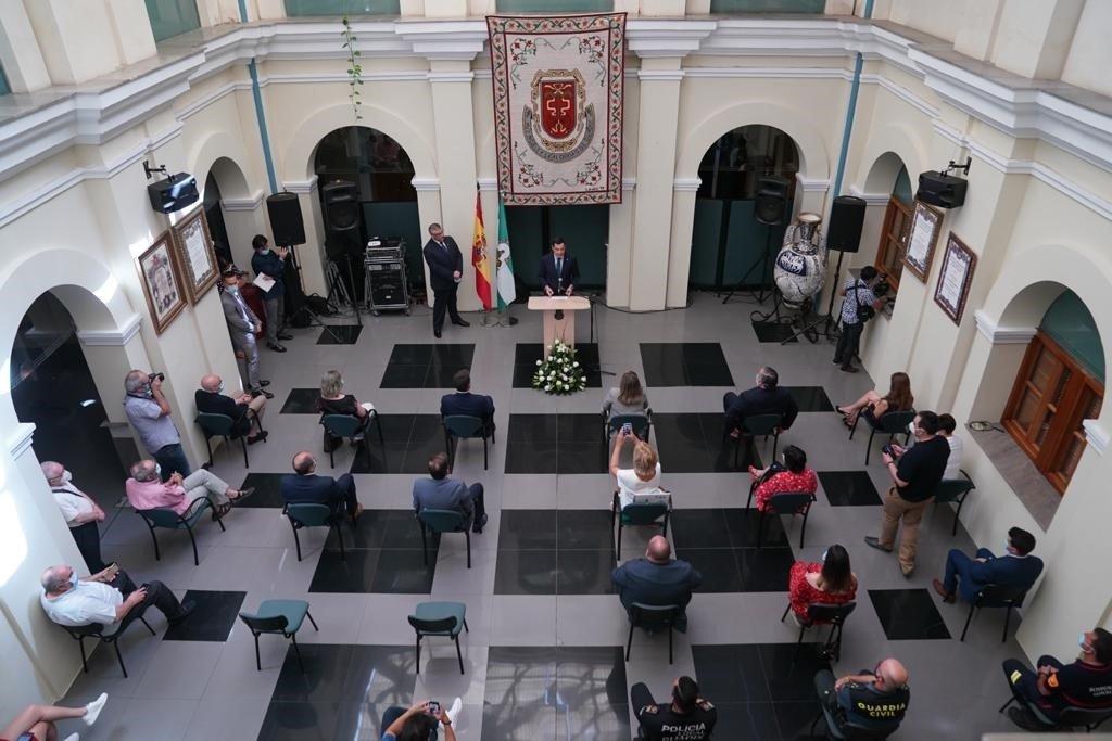 Moreno traslada su apoyo para consolidar el Geoparque de Granada como un «atractivo turístico y económico»