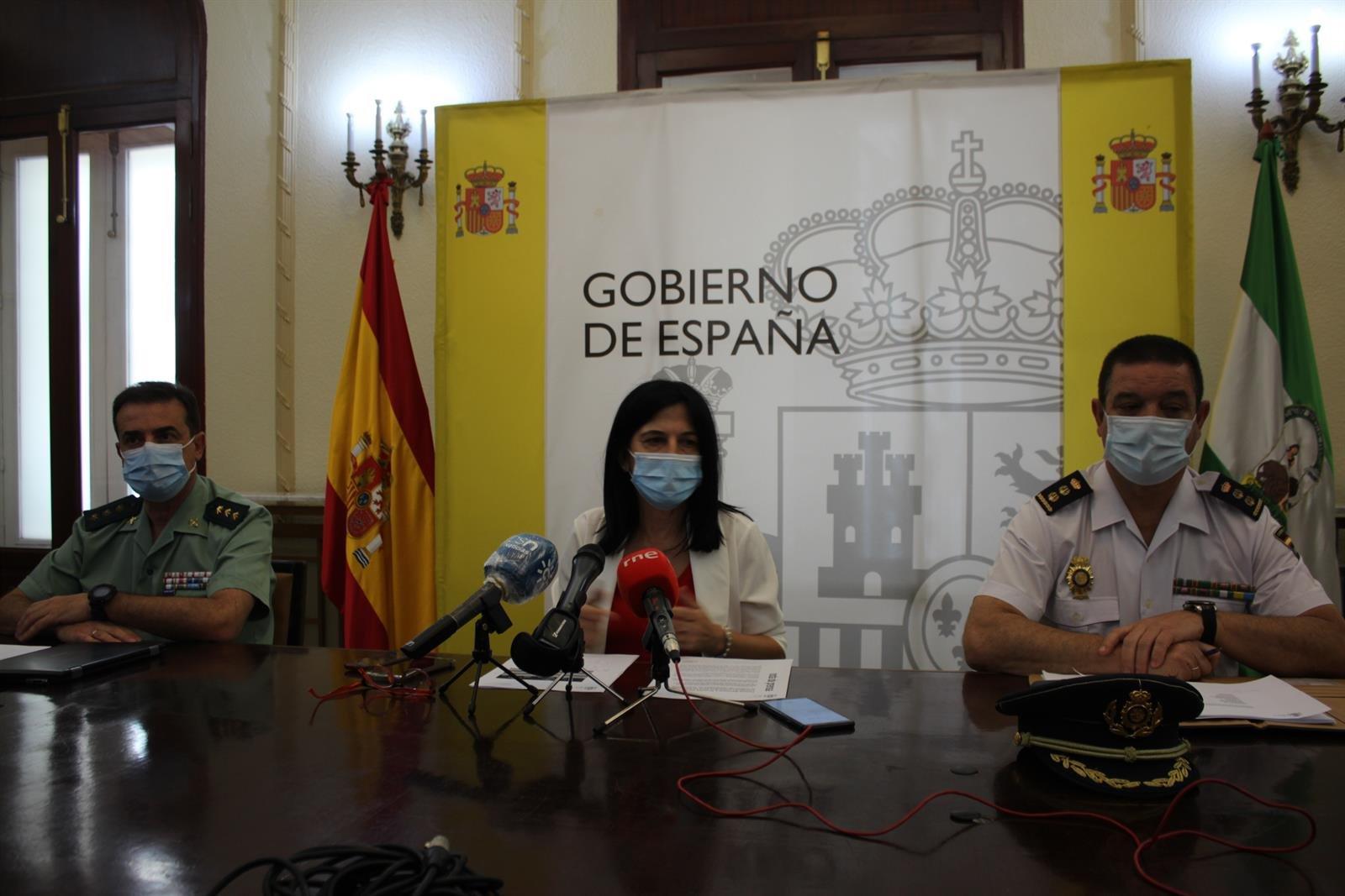 Subdelegación destaca la «proporcionalidad» policial en los altercados por el encarcelamiento de Hasel