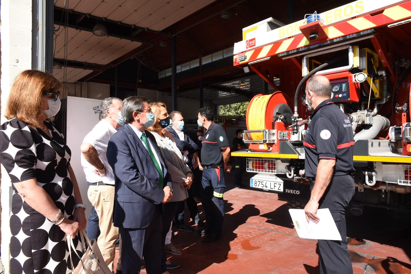 El Consorcio Provincial de Bomberos destinará 852.000 euros para la reforma y ampliación del Parque de Motril