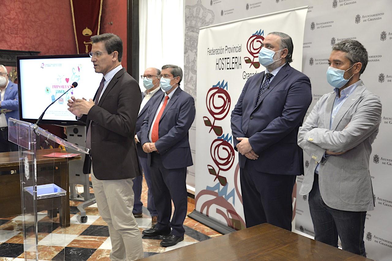 Los Hosteleros ponen en marcha una campaña para promocionar a Granada como destino seguro