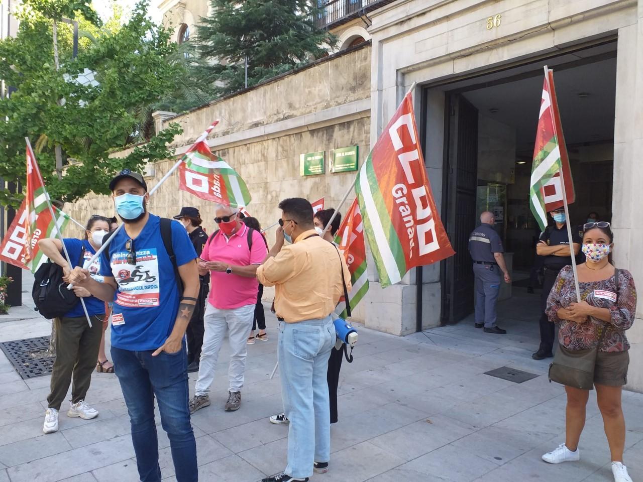 CCOO exige a la Patronal Hostelera y al Gobierno andaluz el cumpliento de la prevención en la reapertura de los establecimientos.
