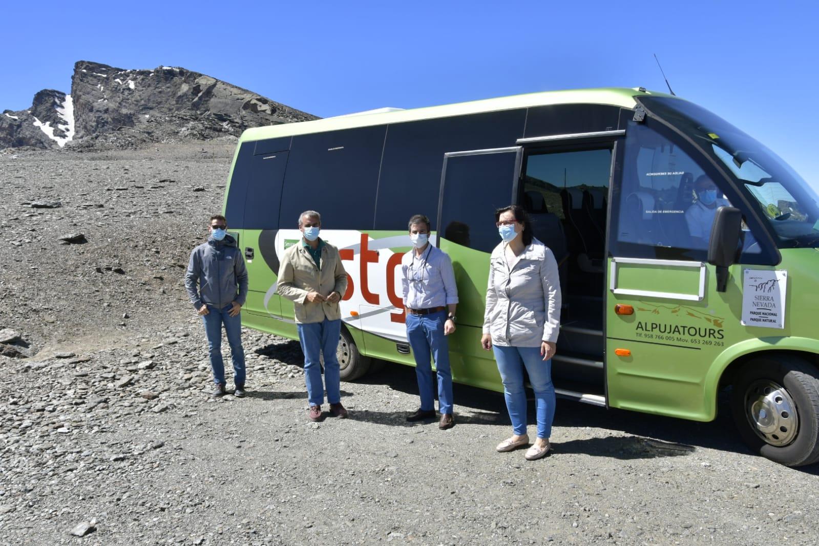 La Junta activa el Servicio de Interpretación de Altas Cumbres para descubrir el lado Norte de Sierra Nevada