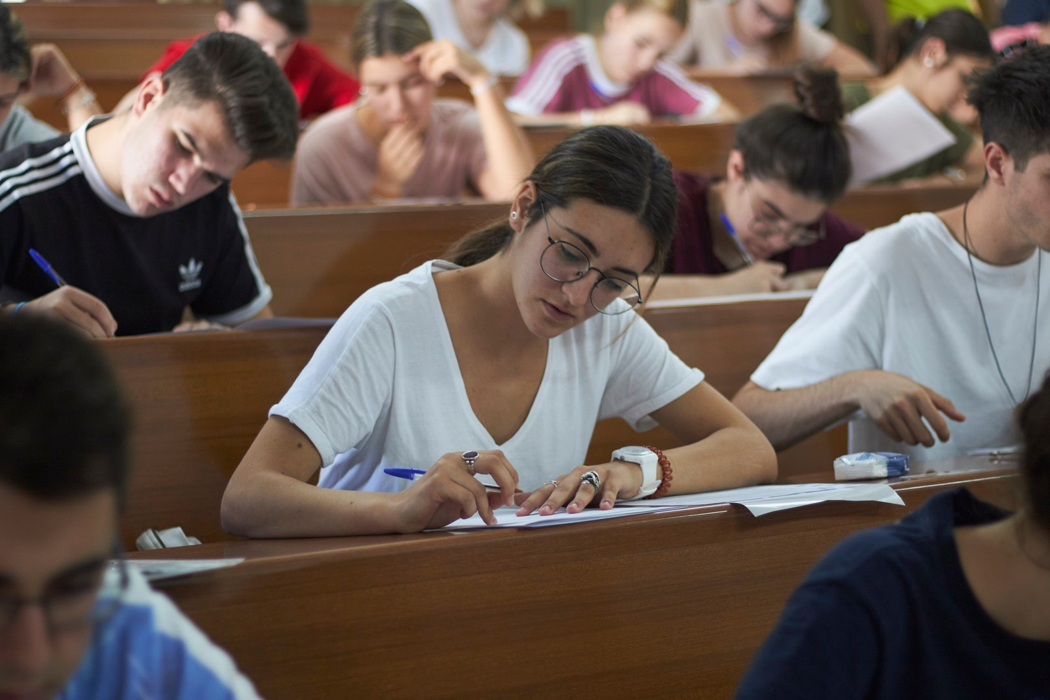 7070 estudiantes se han examinado de la Prueba de Evaluación para el Acceso a la Universidad y de las Pruebas de Admisión en la UGR