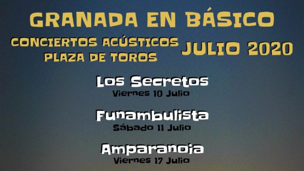 Los Secretos y el Funambulista estrenan este fin de semana el ciclo «Granada en básico»