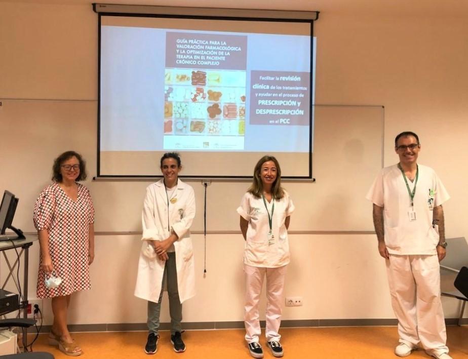 El Clínico edita una guía para facilitar a sus profesionales la optimización de tratamientos en pacientes crónicos