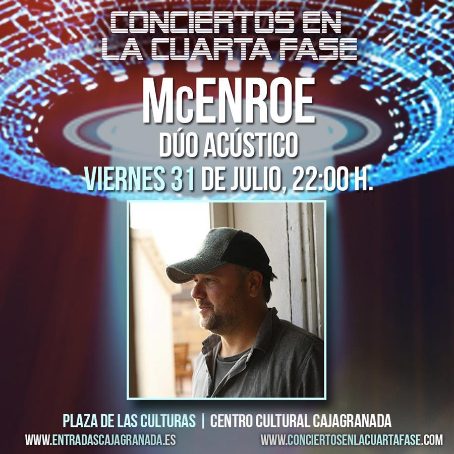 MCEnroe cantan al amor en Los Conciertos en la Cuarta Fase