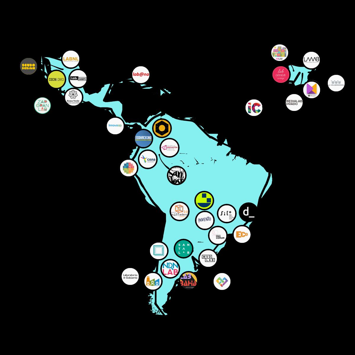 Medialab UGR entra a formar parte de la Red Iberoamericana de Laboratorios de Innovación Ciudadana