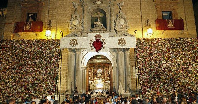Suspenden la tradicional ofrenda floral a la virgen de las Angustias