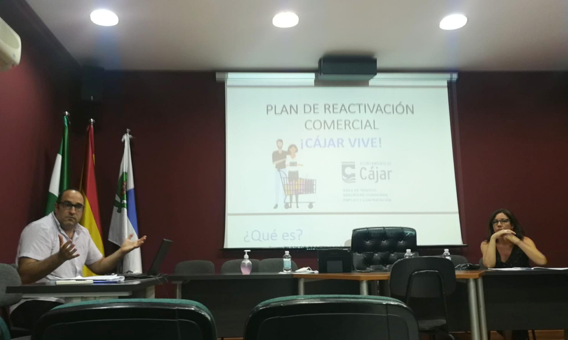 El Ayuntamiento de Cájar reactiva la actividad comercial en el municipio