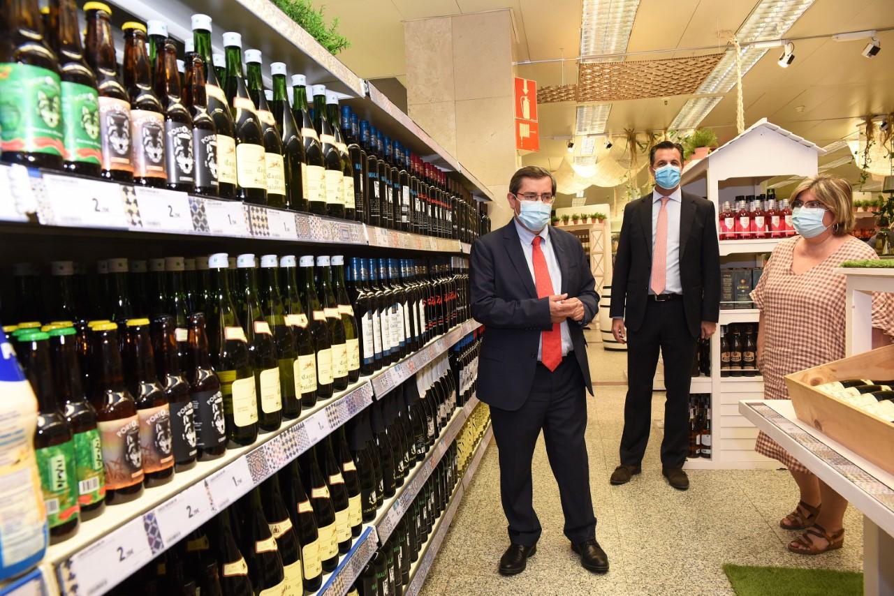 """Los productos de la marca """"Sabor Granada"""" se promocionan en los centros de El Corte Inglés"""