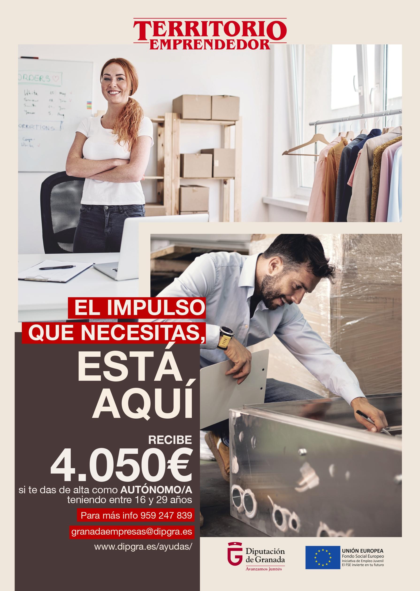 Diputación fomenta el autoempleo en los municipios afectados por la despoblación