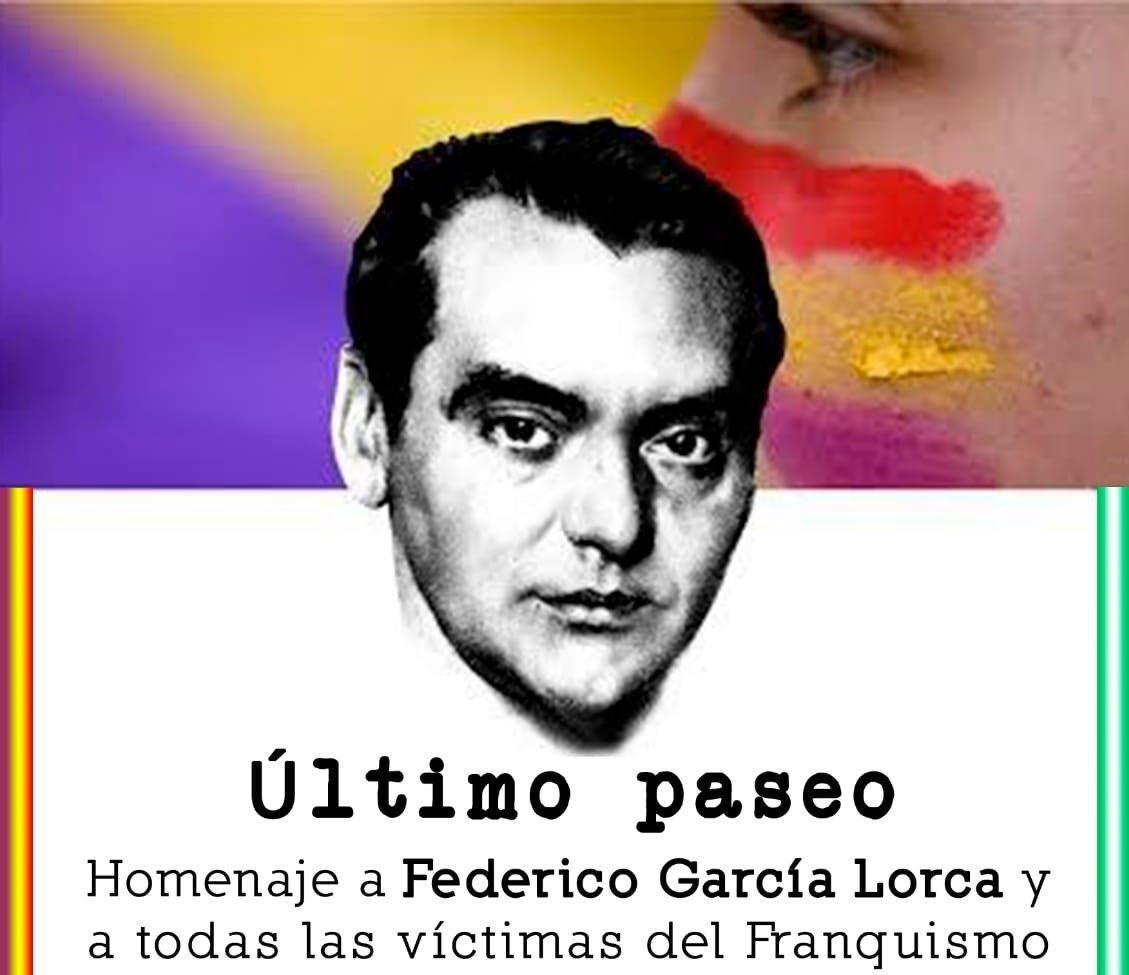 Suspenden el paseo desde Víznar en recuerdo a Lorca por motivos de seguridad sanitaria