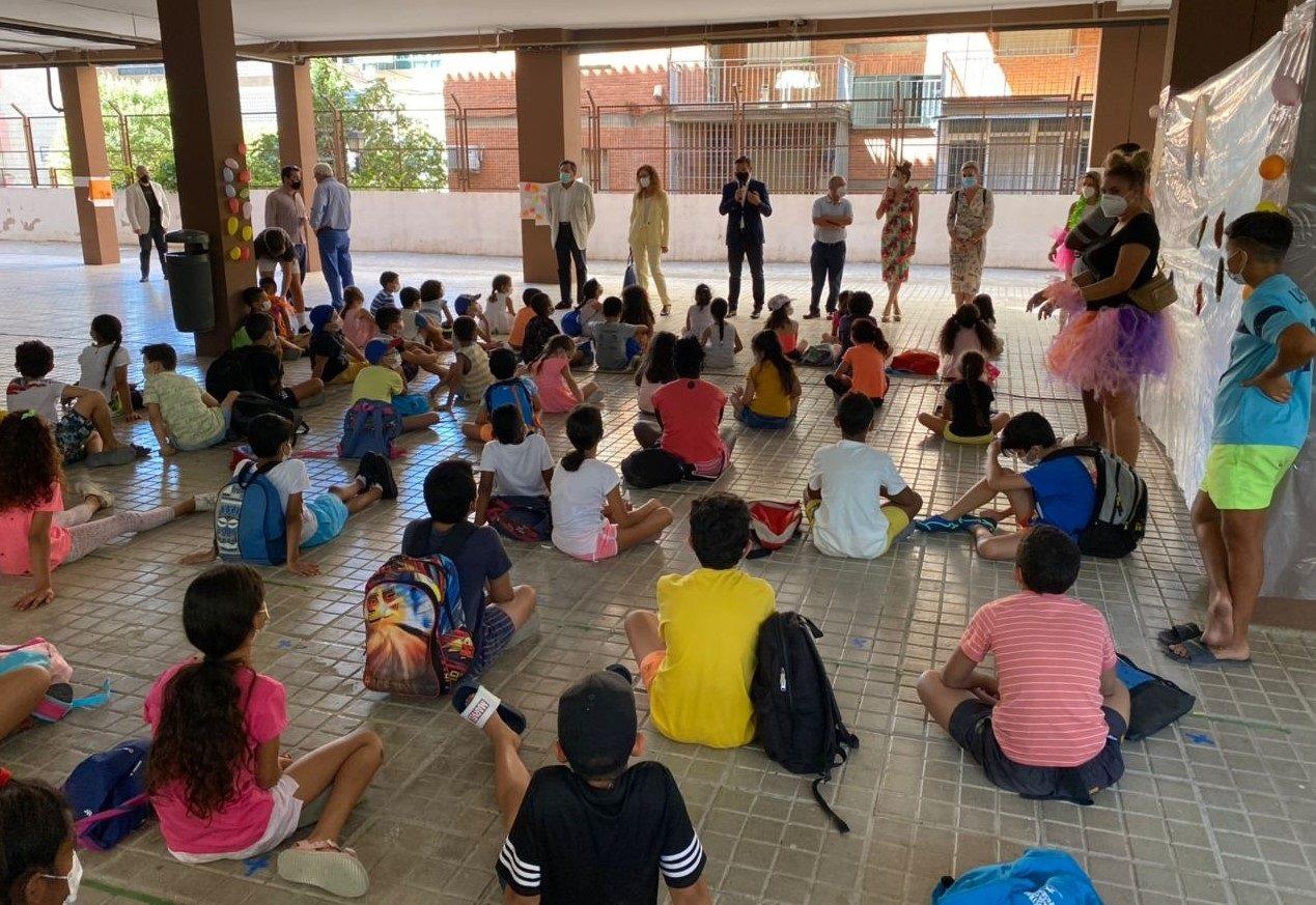 Las escuelas de verano de la zona norte han contado con la asistencia de 285 escolares