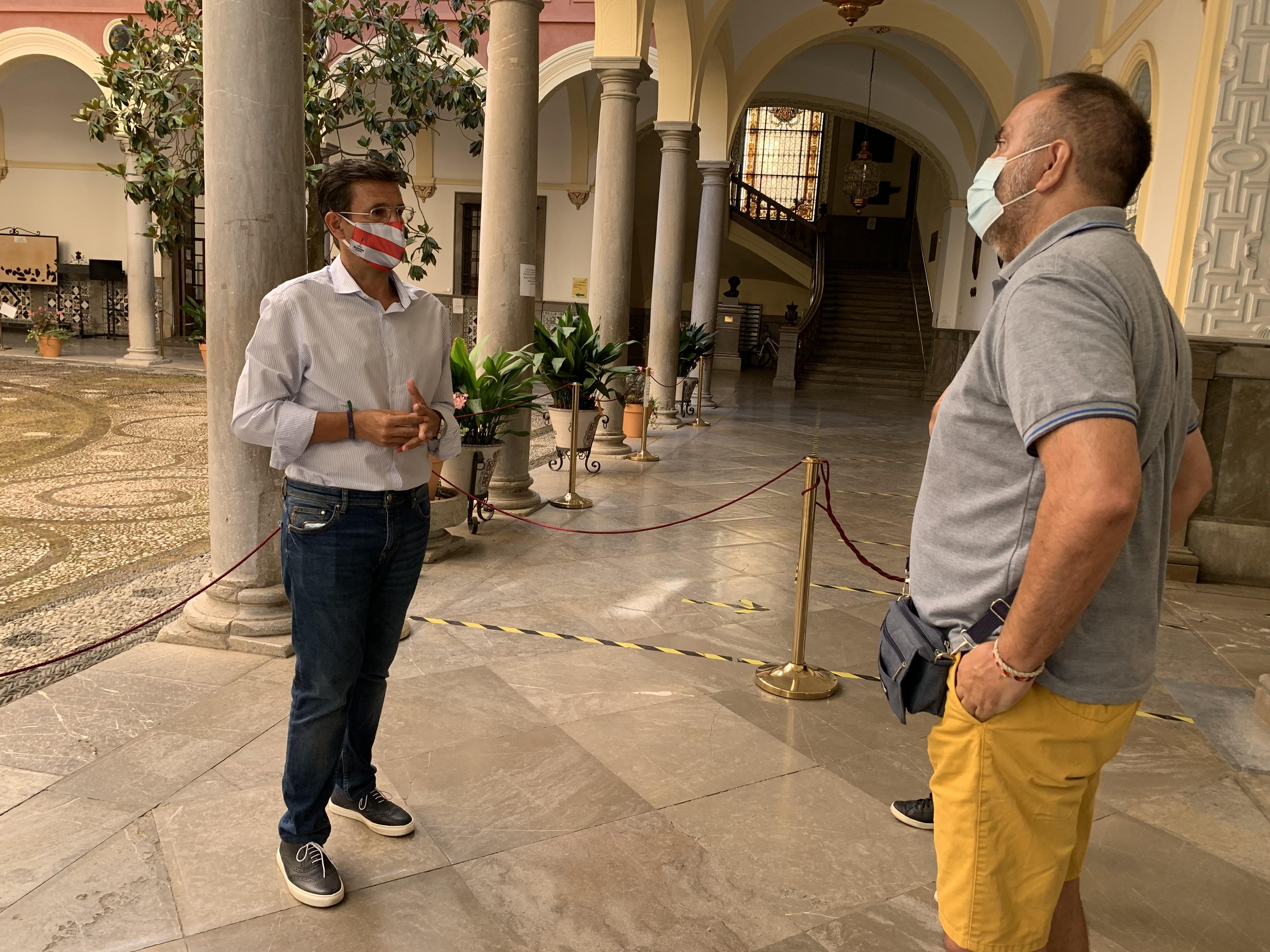 Cuenca exige al alcalde un acuerdo con el Granada que de prestigio a la ciudad en Europa