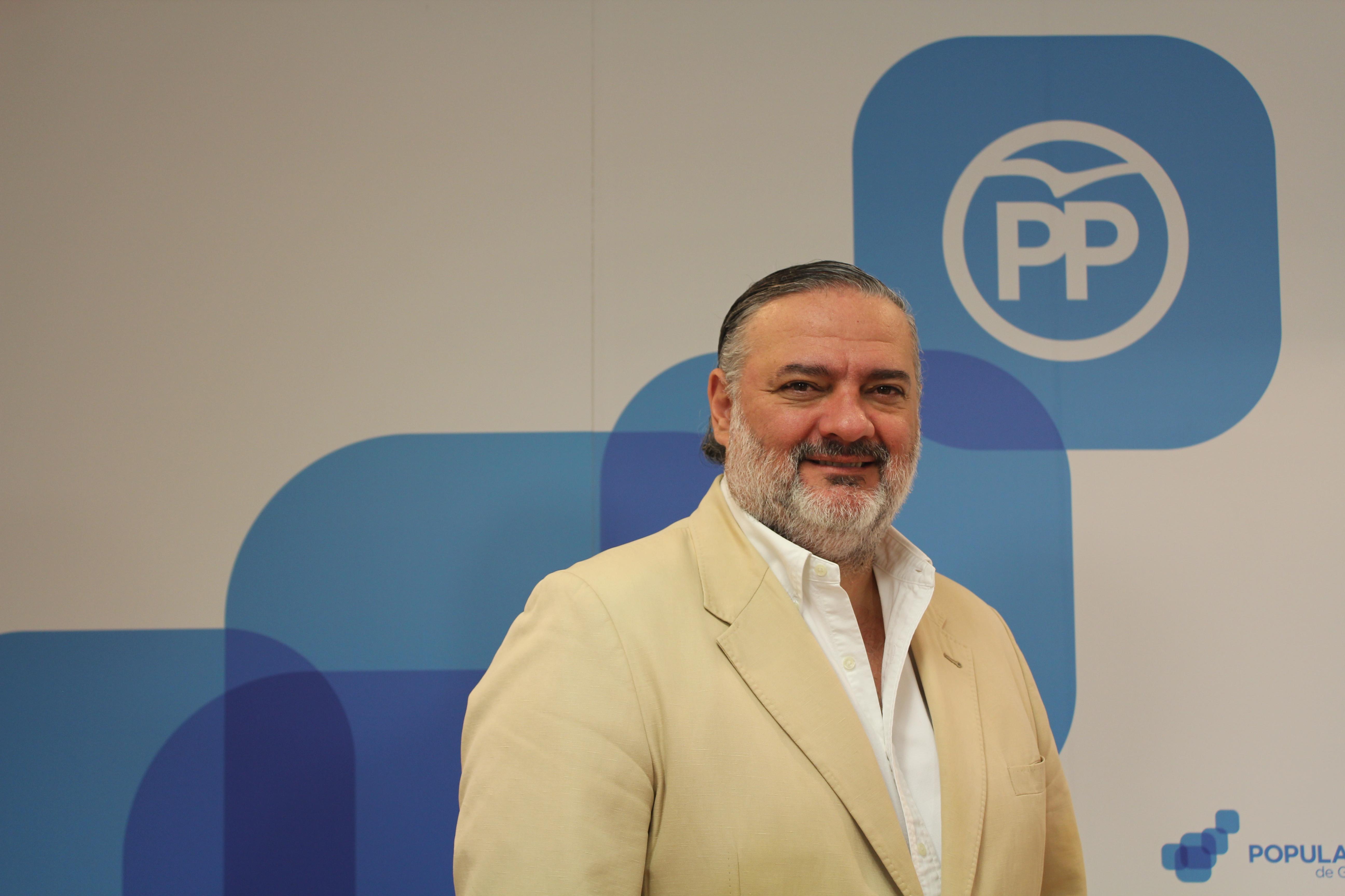 Pablo García muestra su respaldo a Pablo Casado y al «nuevo e ilusionante proyecto del Partido Popular»
