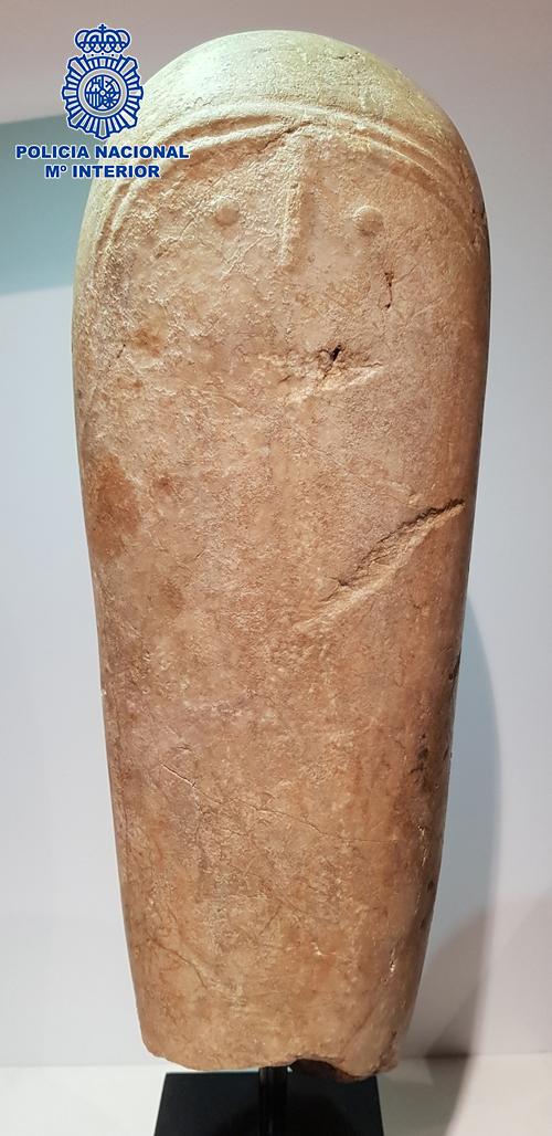Recuperada en Granada una pieza arqueológica única de gran valor histórico