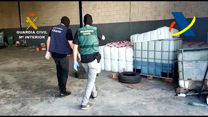 Detenidas 14 personas en la desarticulación de una red que traficaba con hachís desde África