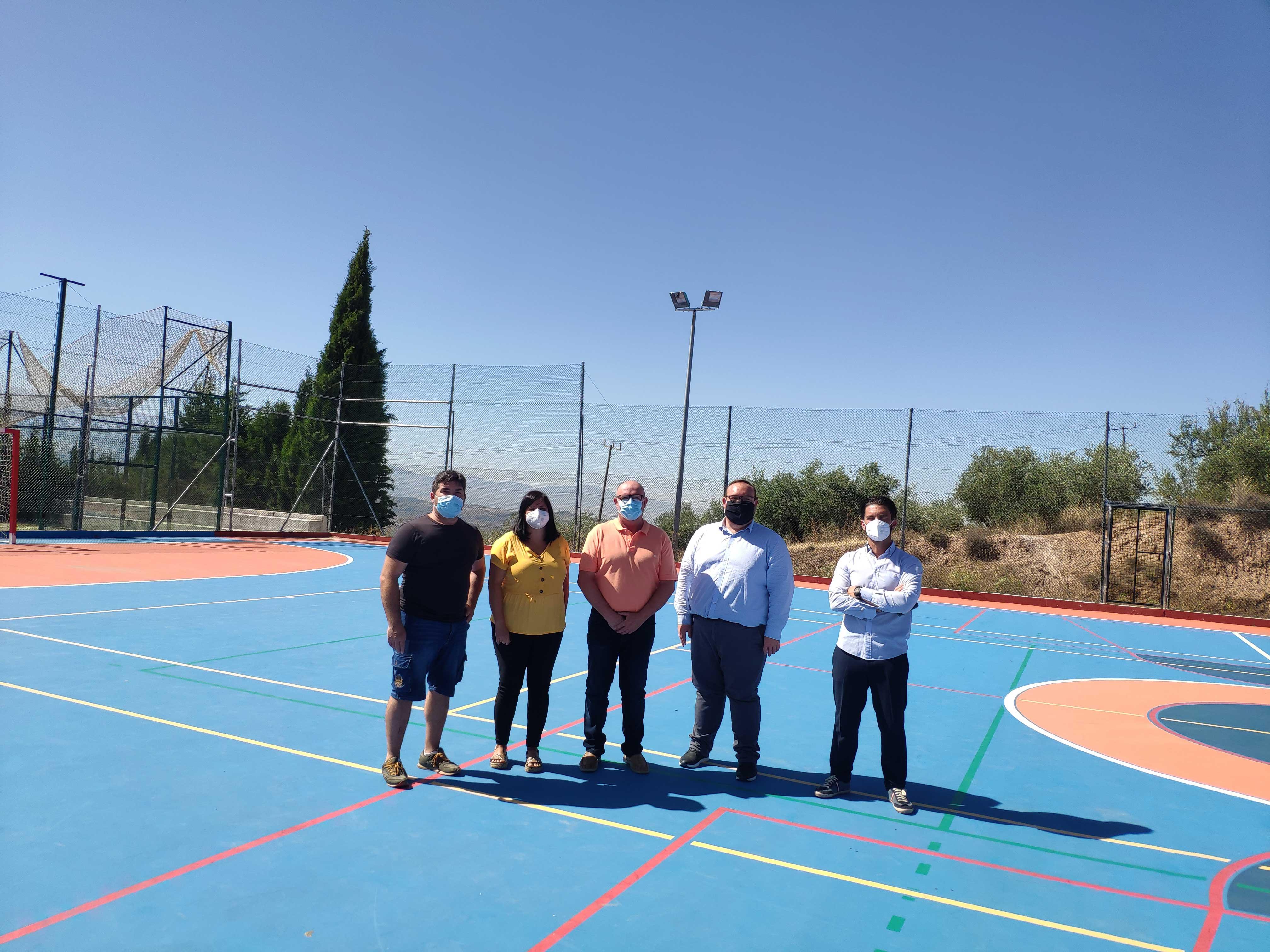 Nívar mejora sus instalaciones deportivas