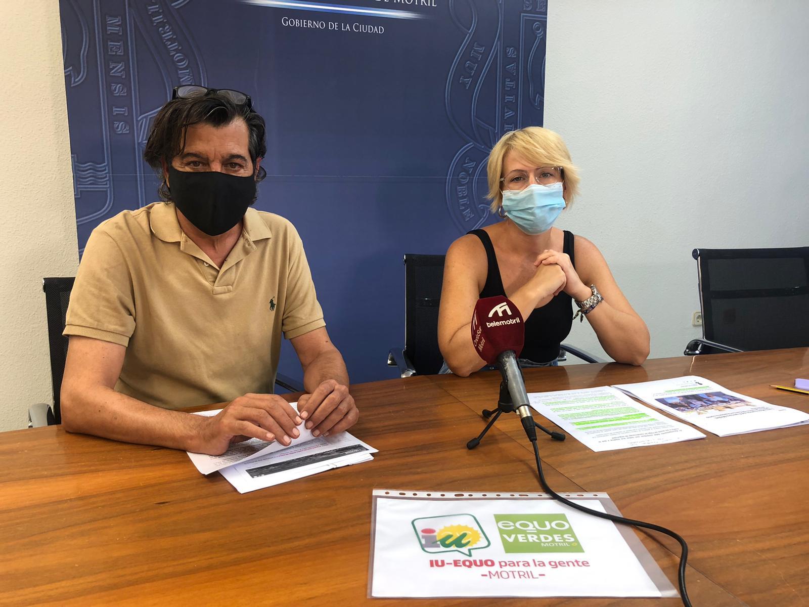 IU-Equo piden al Ayuntamiento de Motril que contribuya para que la vuelta a las aulas se haga en condiciones de seguridad