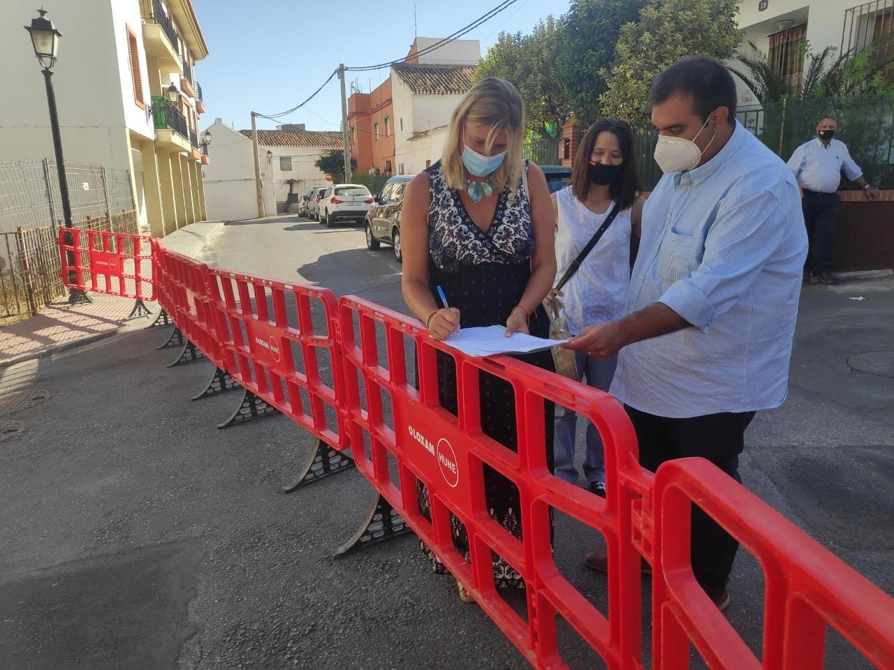 El Ayuntamiento de La Zubia comienza las actuaciones para reparación de desperfectos causados las lluvias