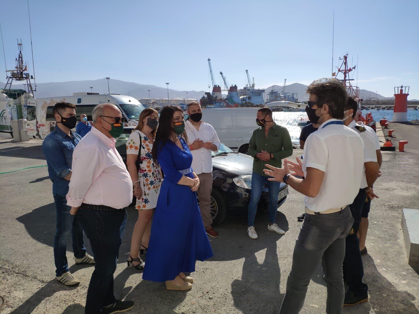 Vox reclama mayor protección para los agentes de Salvamento Marítimo en Motril