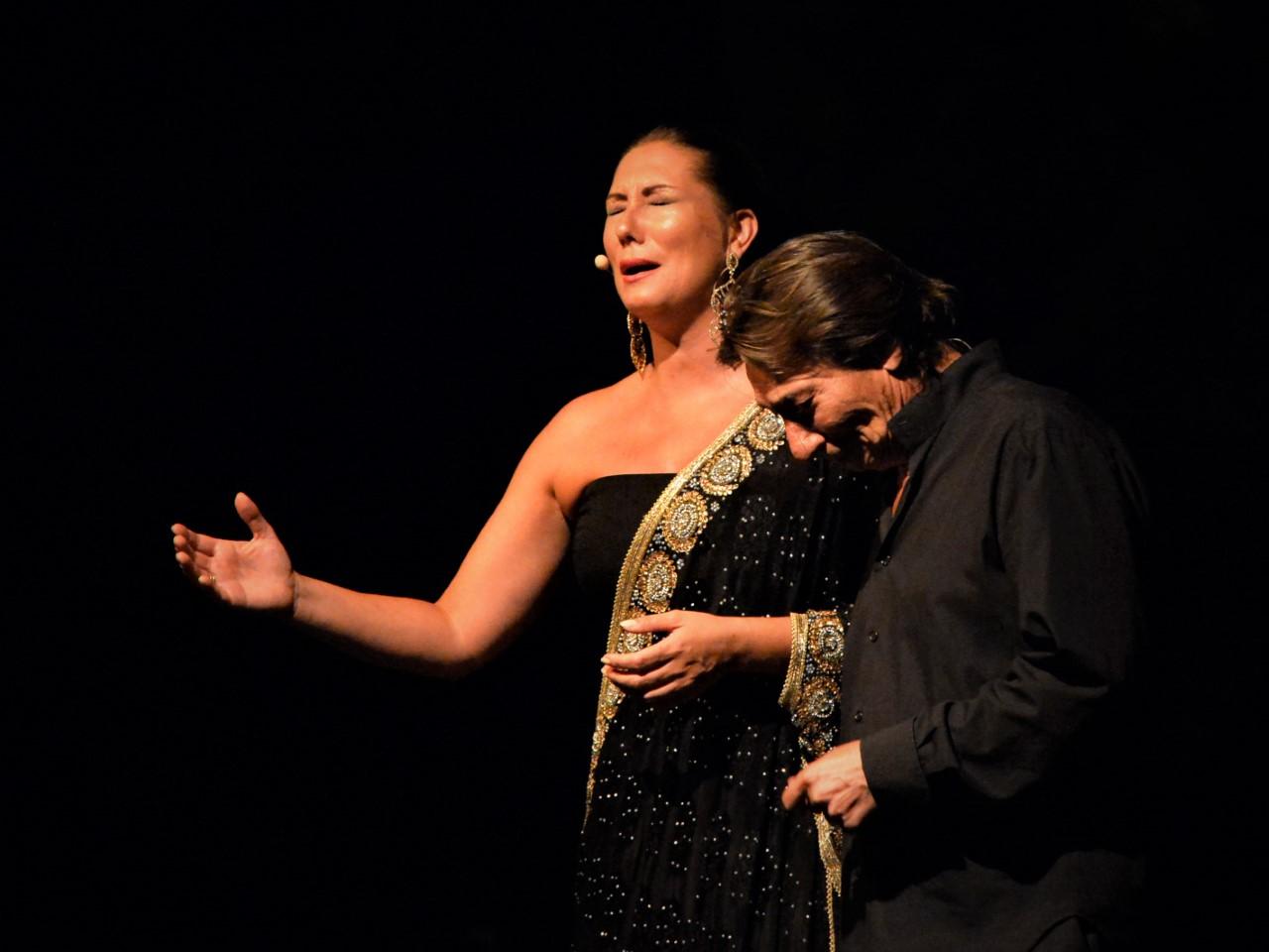 Marina Heredia cierra la edición de este verano de la Caña Flamenca