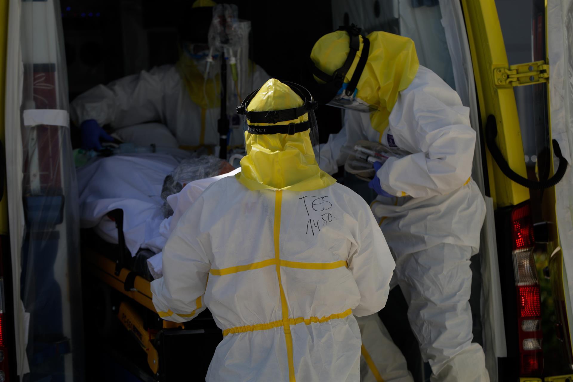 Un fallecido con coronavirus en un día en el que aumentan los contagios