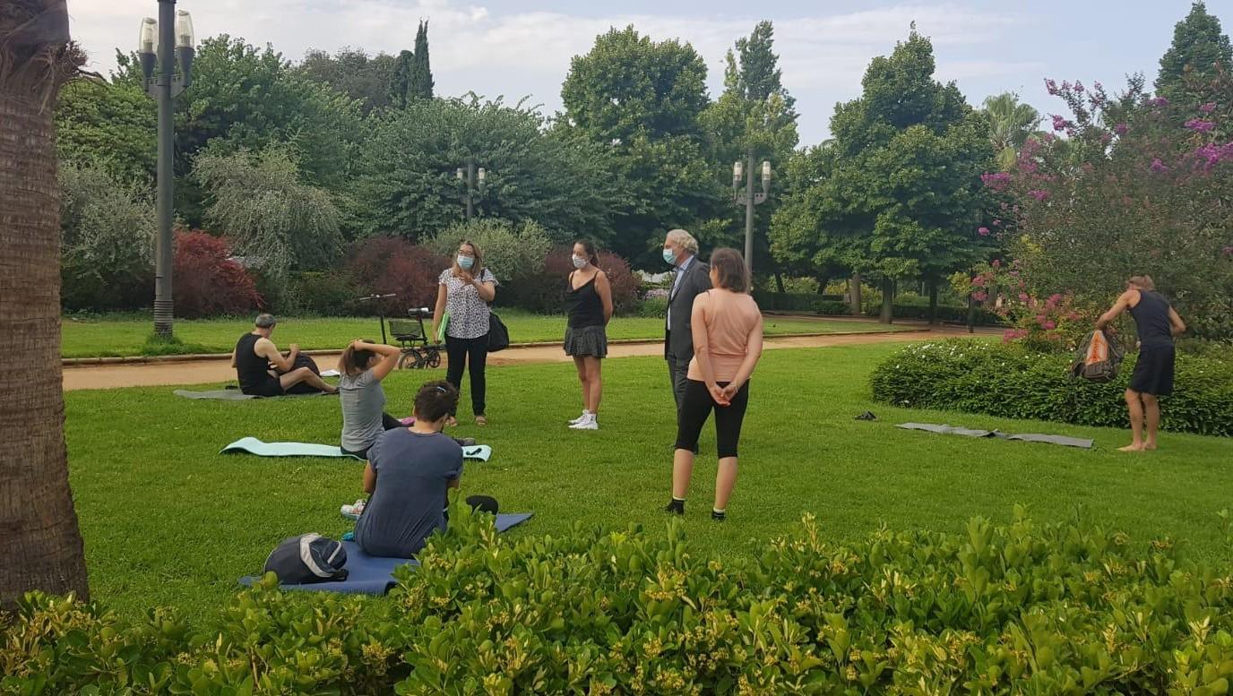 Los granadinos pueden hacer actividades deportivas en las plazas de forma gratuita