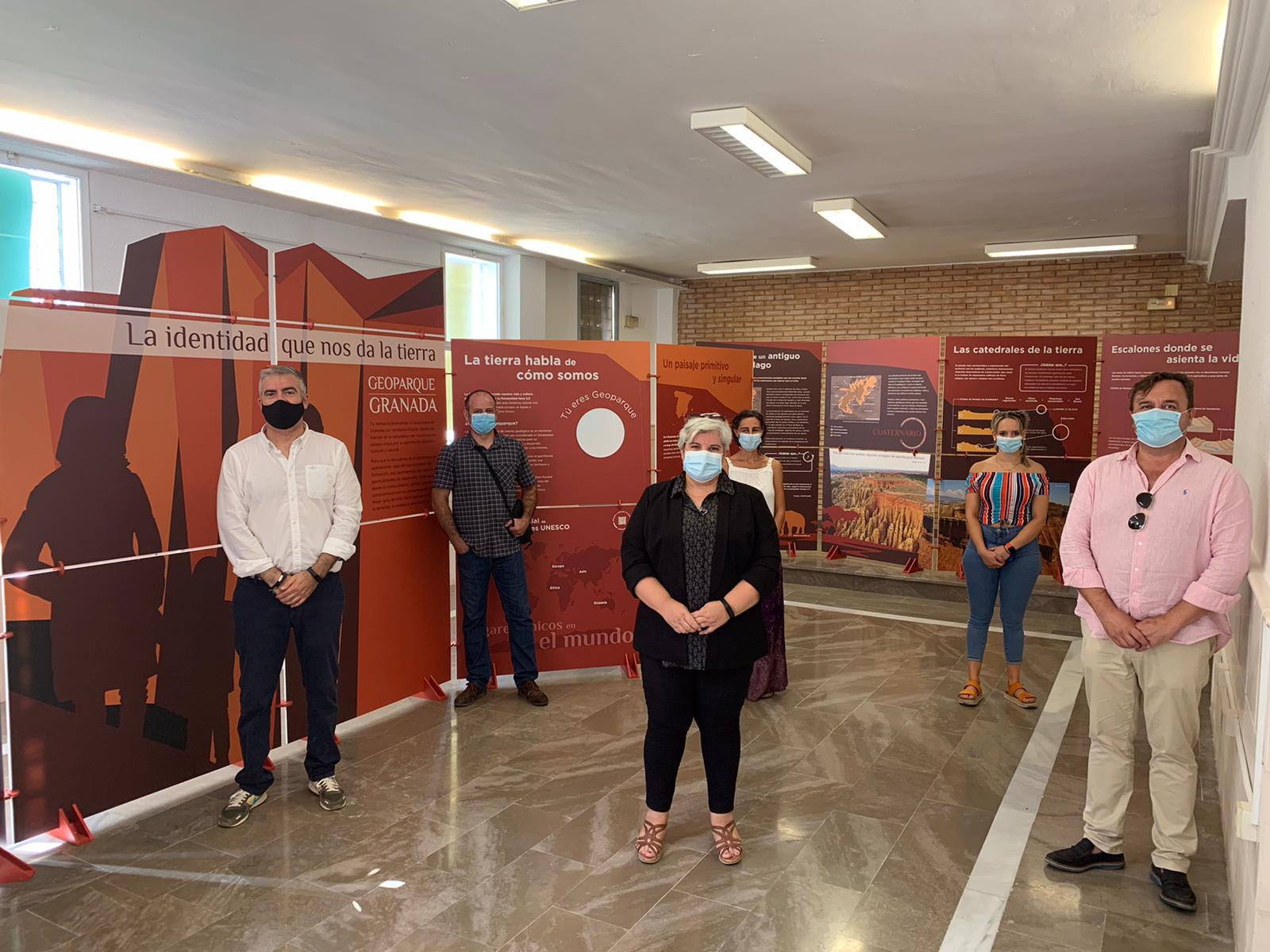 Una exposición itinerante sobre el valor del territorio recorrerá los 47 municipios del Geoparque de Granada