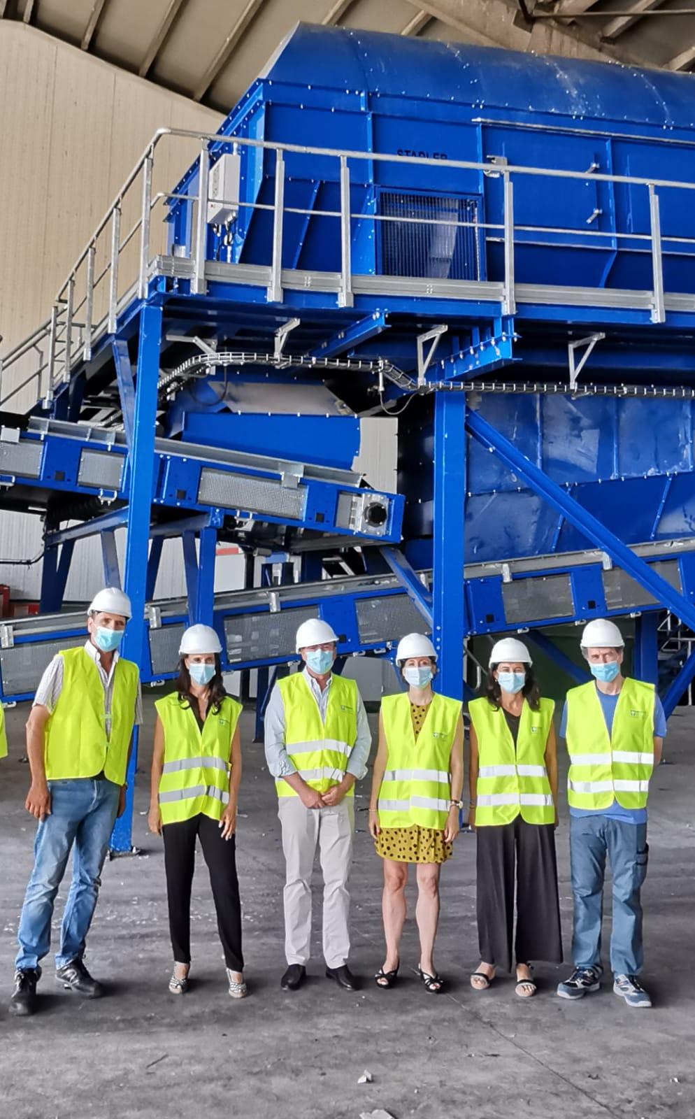 Diputación instalará en la Planta de Alhendín un sistema de reciclaje de muebles y enseres de gran tamaño