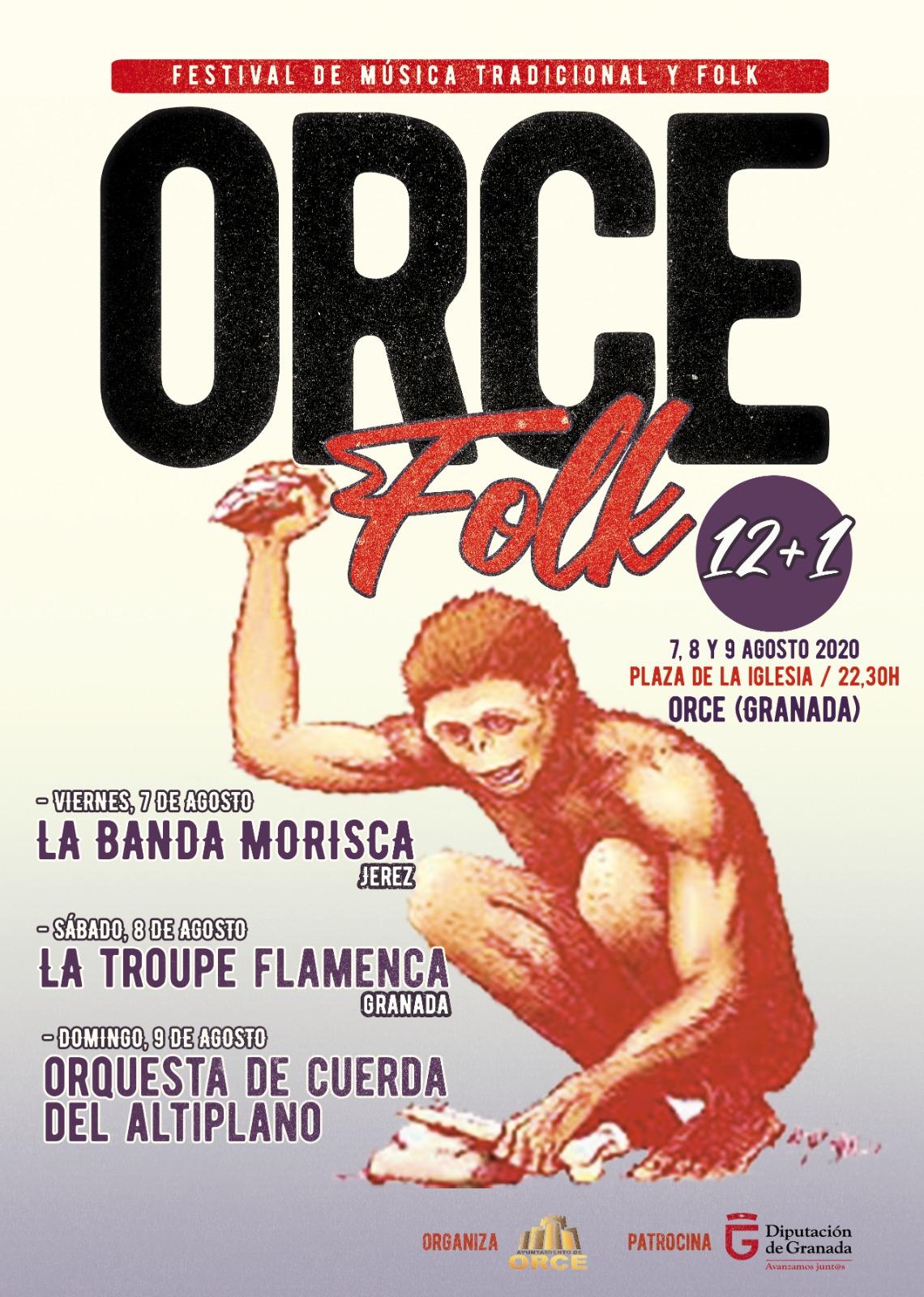 La Covid no puede con el Orcefolk, el único festival del género que se celebrará en Andalucía