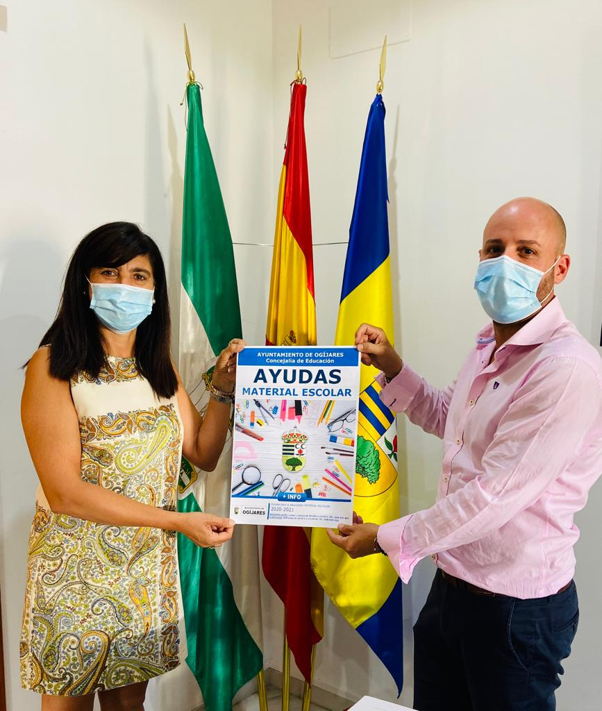 El Ayuntamiento de Ogíjares anuncia ayudas para sus vecinos en la adquisición de material escolar
