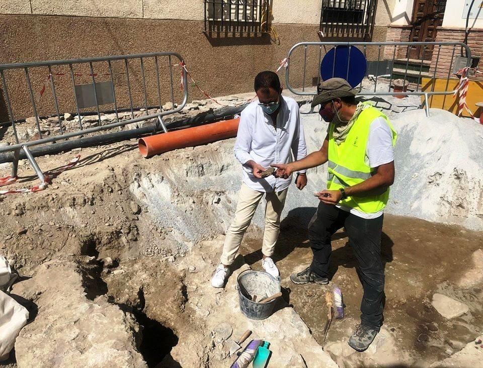Descubren nuevos restos arqueológicos en las obras del barrio de San Miguel de Almuñécar