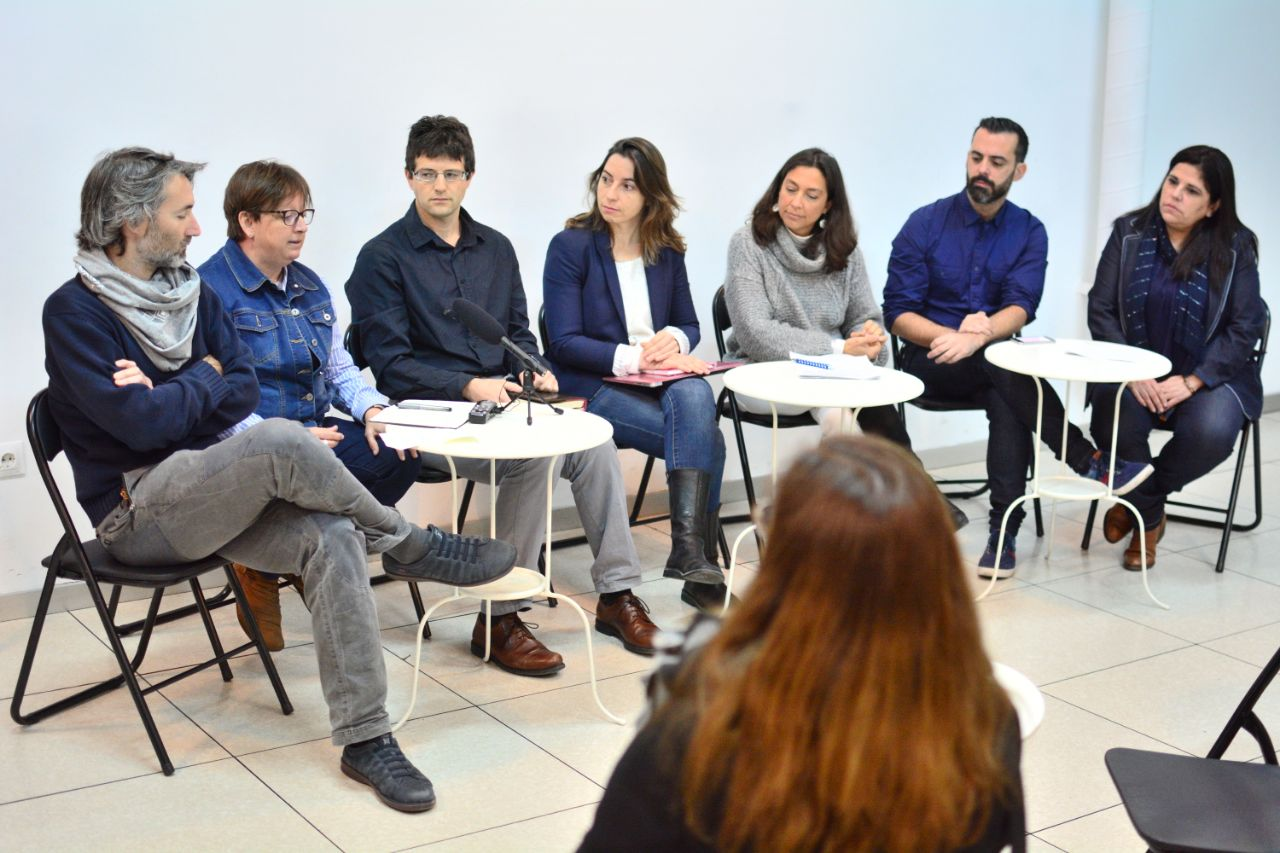 Vamos Granada inicia un proceso de colaboración con Más País