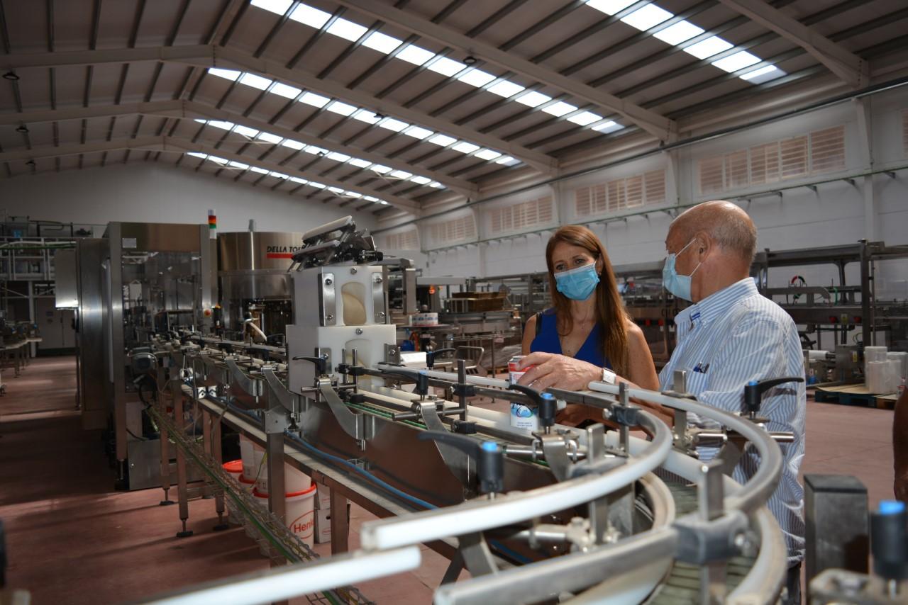 Aguas del Marquesado recibe 2,5 millones de la Agencia IDEA para la puesta en marcha de una fábrica de cervezas