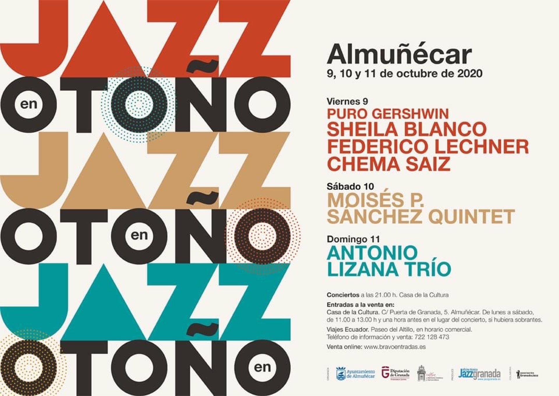 Almuñécar celebrará su Festival de Jazz en Otoño desde el 9 de octubre