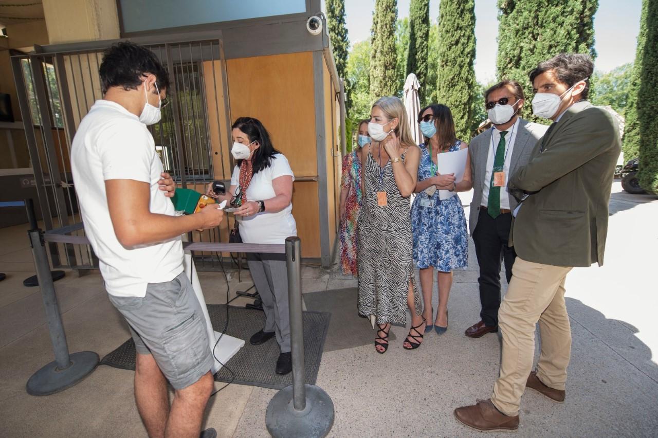 La Alhambra implanta un sistema innovador de acceso al monumento para mejorar su seguridad y transparencia