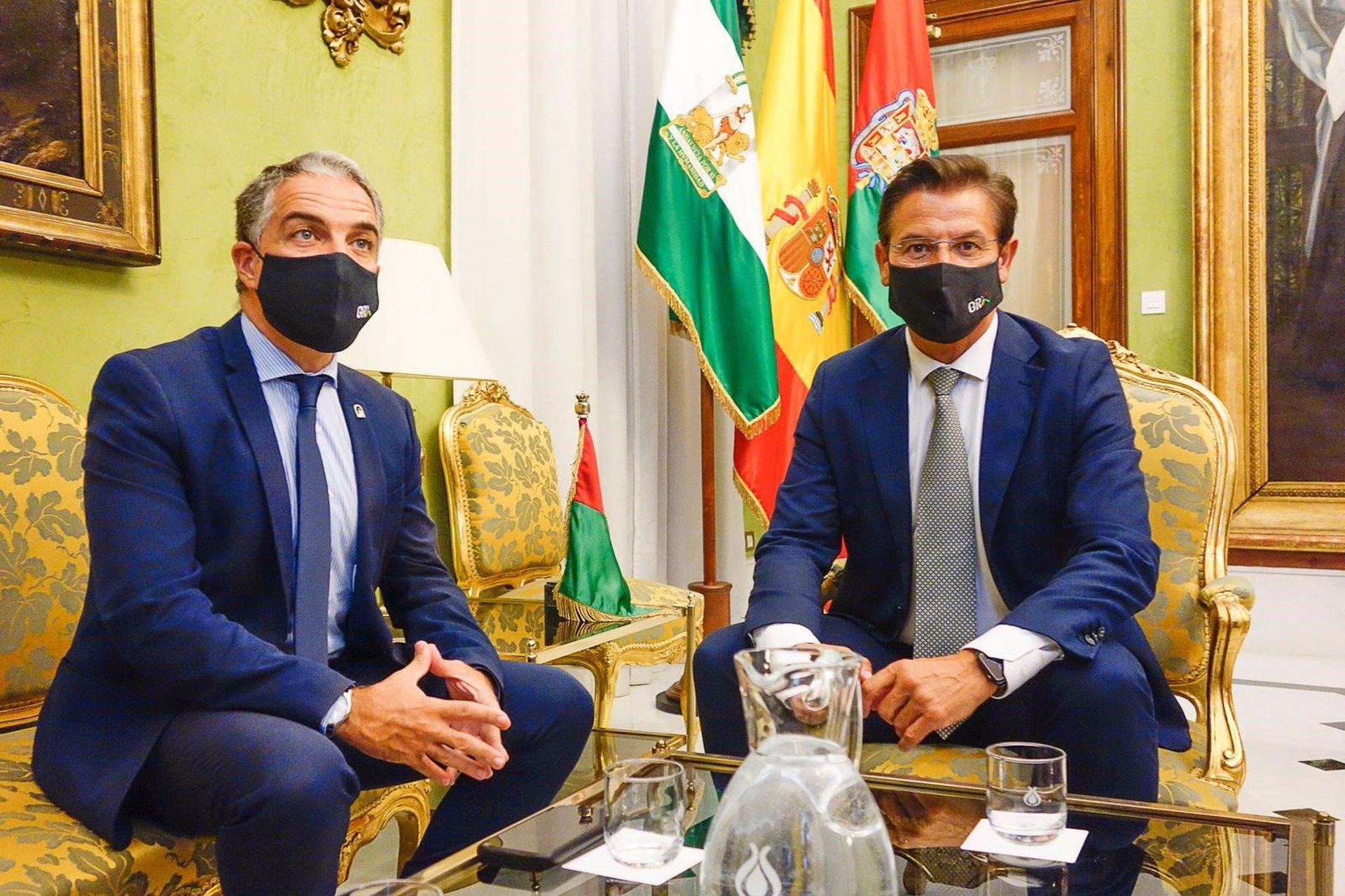 La Junta activa inversiones del Plan Alhambra por 15 millones para proyectos de la ciudad